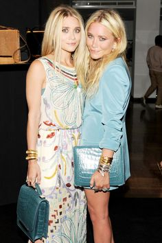 From child stars to fashion insiders, see the style history of the Olsen twins