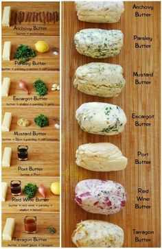 Different Flavors of Homemade Butter