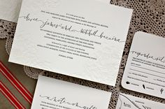 The Left Handed Calligrapher | Elizabeth Anne Designs: The Wedding Blog