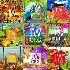 Jehovah's Witnesses Around the Globe!! Much Love to the dear brother/sister hood;-)