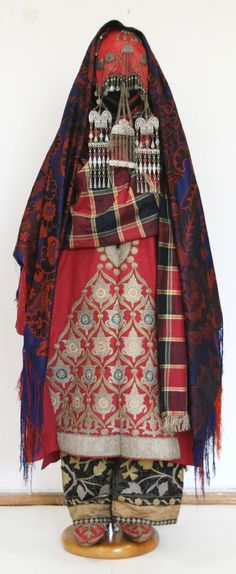 Costume from Dagestan || Аварка,с.Ругуджа (Avars, Rugudzha village, Gunibsky district)