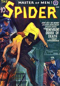 Pulp Fiction cover artist RAFAEL DESOTO (1904-1992)