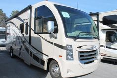 2016 New Thor Motor Coach VEGAS 25.2 Class A in Florida FL.Recreational Vehicle, rv, 2016 THOR MOTOR COACH VEGAS25.2, 12V Attic Fan in Bedroom, 12V Attic Fan in Living Area, 15.0 BTU A/C, 32in Exterior TV, 32in TV in Bedroom, Cabinetry-Olympic Cherry, Holding Tanks w/Heat Pads, Interior-Indian Summer, Jazzy Blue Exterior, Second Auxiliary Battery,