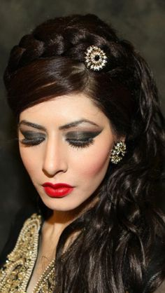 Beautiful party look done by me
