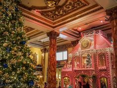 Fairmont Hotel lobby - Christmas in San Francisco