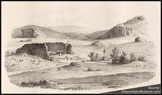 Το Παναθηναϊκό Στάδιο το 1835, προτού γίνει «καλλιμάρμαρο»