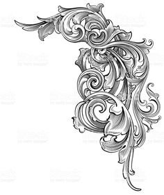 Entangled Scrollwork royalty-free entangled scrollwork stock vector art & more images of antique