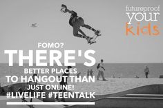 Encouraging our teens to be active and enjoy life outside of their devices creates balance. #parenting #teentalk