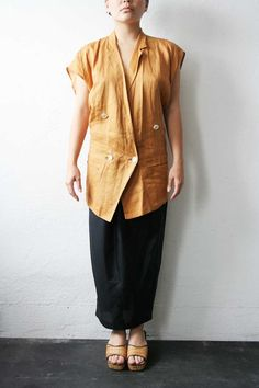 Yohji Yamamoto Asymmetrical Top by weltenbuerger on Etsy, $398.00