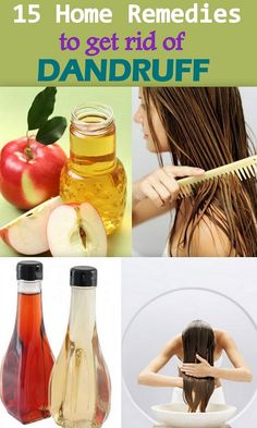 15 Effective Home remedies to cure dandruff permanently !