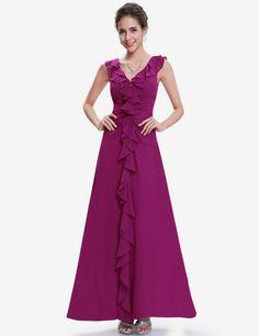 2017 New Arrive Women Elegant Club Party Dress V Neck Sleeveless Ruffles Slim Big Size 7XL Dress #Affiliate