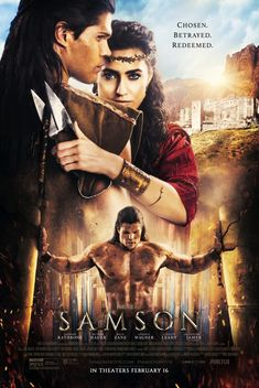 Bruce Macdonald's Samson is a 2018 biblical drama film, inspired by the story of Samson in the Book of Judges. It is about Samson's quest and imprisonment into a victory. It stars Taylor James, Jackson Rathbone, Billy Zane, Caitlin Leahy and Rutger Hauer. Films Chrétiens, Imdb Movies, 2018 Movies, Top Movies, Movies To Watch, Movies Free, Film Watch, John Wick, Hd Streaming