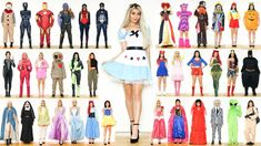So as we're getting closer to Halloween I decided to give y Costumes For Teens, Couple Halloween Costumes, Girl Costumes, Adult Costumes, Costume Ideas, Rapunzel Costume, Anna Costume, Cinderella Costume, Reaper Costume