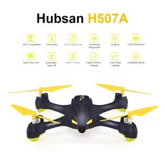 Only US$99.99, Hubsan H507A Wifi FPV Selfie Drone RC - Tomtop.com