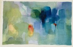 Abstract Original Watercolor-Painting-Colorful-Art by ARTEQUALSJOY