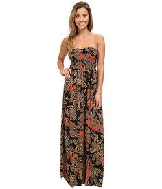 Element Suki Strapless Maxi Dress