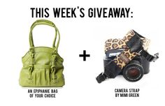 This week we're pairing an Epiphanie bag with a lovely camera strap by Mimi Green! More details on www.daily-epiphanie.com #dailyepiphanie #epiphanieweeklygiveaway