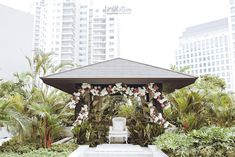 Now we're talking some glamour Javanese wedding. we're so excited get to share the photos of Chacha and Dico's wedding. This fabolous c. Javanese Wedding, My Dream, Wedding Ceremony, Gazebo, Dream Wedding, Glamour, Outdoor Structures, Outdoor Decor, Photos