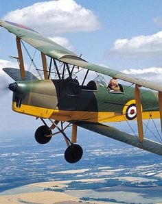Oh to fly in a tiger moth!