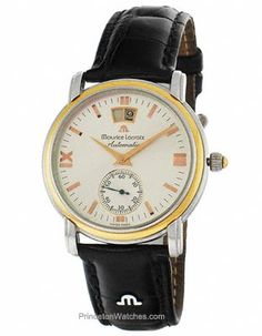 Pre-Owned Maurice Lacroix 5879 Masterpiece Grand Guichet Automatic - Two-Tone.  $1,995.