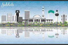 Jeddah Skyline with Gray Buildings by@Graphicsauthor