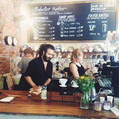 Bakeliet Cafe in Kiel - Lecker Kaffee in aufwendig eingerichtetem Cafe