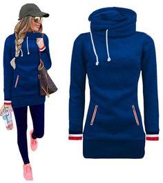 Hoodies Double Pullovers Elegant hoodies stitching Women autumn Winter sweatshirt quality High
