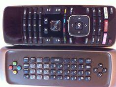 Original New Vizio Smart TV Remote Control Dual Side Keyboard Model M and E Home | eBay