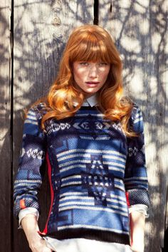 Margaret O'Leary's Color-Soaked Lookbook Makes Us Want To Bundle Up