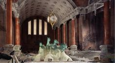 Abandoned urban spaces: a photo series by Lori Nix - Lost At E Minor: For creative people