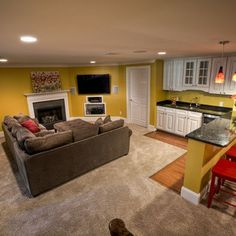Basement Family Room Design | Basement Family Room Design, Pictures, Remodel, Decor and Ideas - page ...
