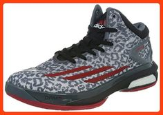 sports shoes 3f3dd f1219 Adidas Basketballschuh ADIZERO CRAZY LIGHT 4 LEATH, Größe 48 23, Farbe Grau
