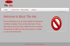 BlockTheAds est un programme publicitaire risquée qui ressemble à un site de l'entreprise légitime et si vous cliquez accidentellement sur ce site vous sera forcée rediriger vers le site malveillant qui sont liés avec les pirates en ligne.