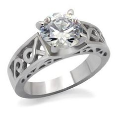 Temporary engagement ring