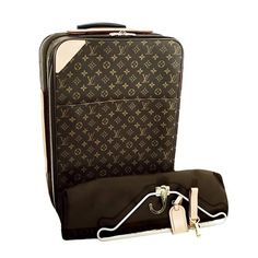 72b60ea0efbd1b Save big on the Louis Vuitton Pgase Suitcase Monogram Unisex Rolling Cabin  Sized Weekend/Travel Bag! This travel bag is a top 10 member favorite on  Tradesy.