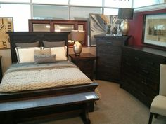 The Rustic Carlisle bedroom collection.