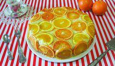 La torta farcita all'arancia è un soffice pan di spagna aromatizzato…