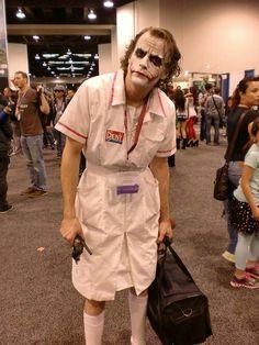 The Joker Cosplay