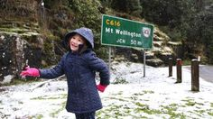 Snow adds to road closures across Tasmania   The Mercury