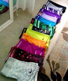 Nike pros -YES!! My bday is around the corner!!