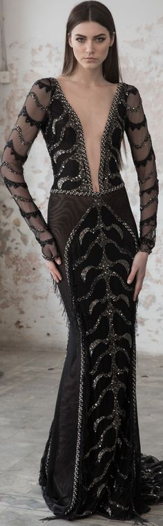 Black Pearl by Galia Lahav is Luxurious haute-couture evening collection for parties and weddings.