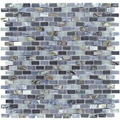 Home > Search For: mini brick tile: Illusion Glass Tile - North Shore - Mini Brick Mosaic in Shark Cove