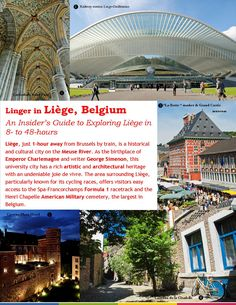 a short and handy guide to Liége