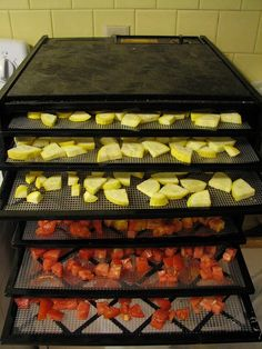 dehydrating vegetables