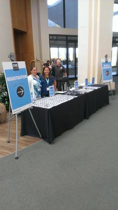 Registration table for the first day of Corporate Event Design, Event Branding, Conference Planning, Welcome Table, Event Registration, Event Signage, Event Planning Business, Event Organiser, Event Decor