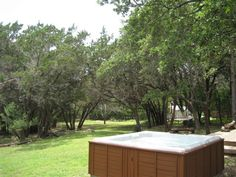 Texas Star, hot tub, Wimberley, $135-145 per night