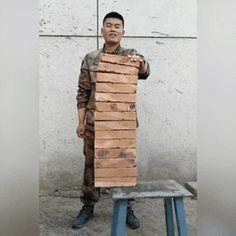 14 bricks, 1 chop : gifs