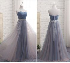 Sweet romantic princess wedding/party full dress YV17008 | Youvimi Sweetheart Prom Dress, Tulle Bridesmaid Dress, Bridesmaid Dresses 2017, Prom Dresses, Tea Length Dresses, Dresses With Sleeves, Western Gown, African Fashion Dresses, Color Box