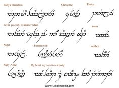 40 Awesome elvish tattoos quotes images
