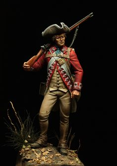 Regiment of Foot - American Revolution - Virtual Museum of Historical Miniatures British Army Uniform, British Uniforms, Ww2 Uniforms, Royal Navy Officer, Royal Marines, American Revolutionary War, American War, Independencia Usa, Continental Army